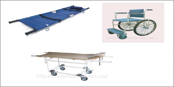 Means of transport Patient's transport
